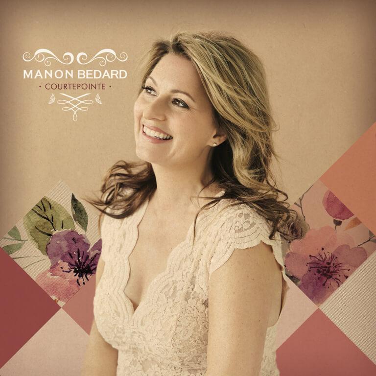 L'album Courtepointe de Manon Bédard, disponible partout